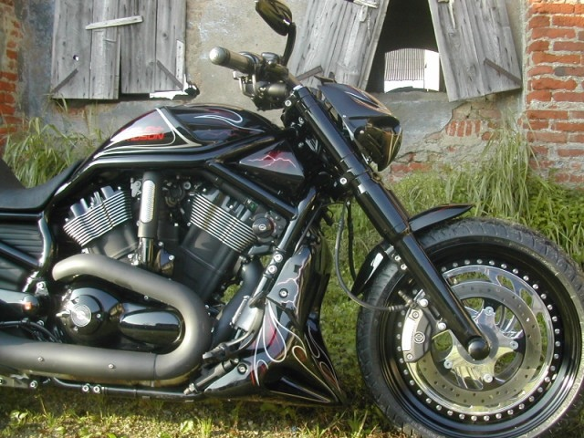 HD N-Rod Mph Blackhawk