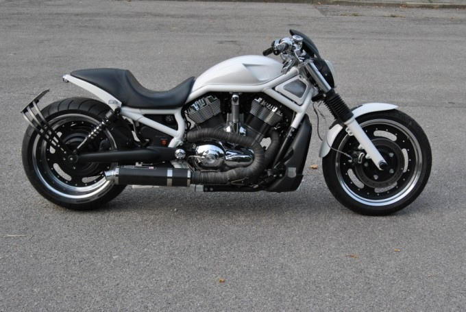 HD VRod Mph Ice Angel